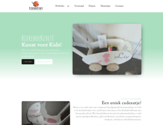 kiekeboekunst.nl screenshot