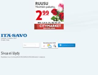 kiekko.ita-savo.fi screenshot