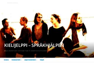kielijelppi.fi screenshot
