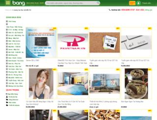 kiengiangmuaban.bang.vn screenshot