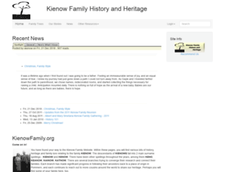 kienowfamily.org screenshot