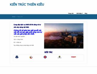 kientructhienkieu.com screenshot