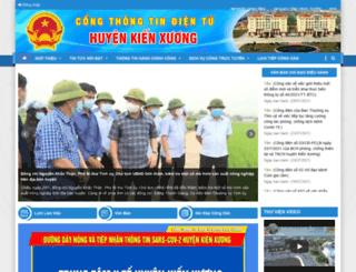 kienxuong.thaibinh.gov.vn screenshot