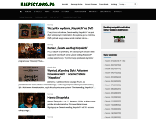 kiepscy.org.pl screenshot