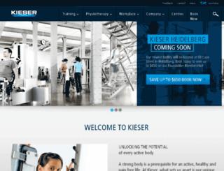 kieser-training.com.au screenshot