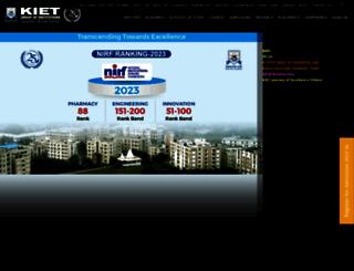 kiet.edu screenshot
