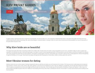 kievprivateguides.com screenshot