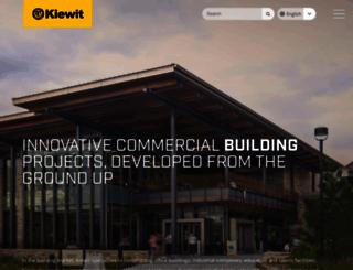kiewit.com screenshot