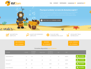 kifdom.com screenshot
