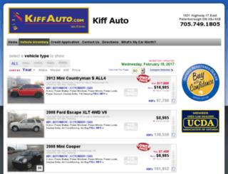 kiffauto.wheelsonline.ca screenshot