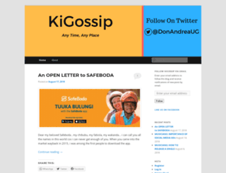 kigossip.wordpress.com screenshot