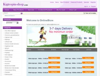 kigtropin-shop.com screenshot