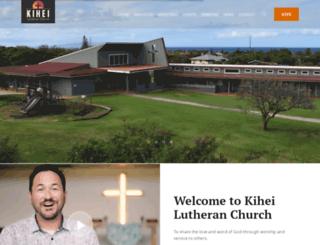 kiheilutheran.org screenshot