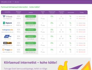 kiirlaen.co.ee screenshot