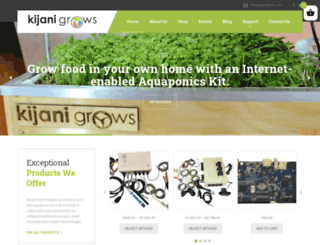 kijanigrows.com screenshot