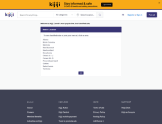 kijji.ca screenshot
