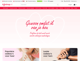 kijkshop.nl screenshot