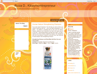 kikaymomtrepreneur.blogspot.com screenshot