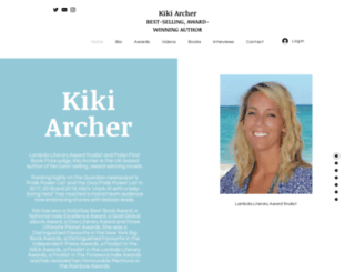 kikiarcherbooks.com screenshot