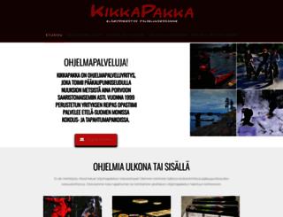 kikkapakka.fi screenshot