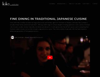kikosushibar.com screenshot