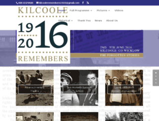 kilcooleremembers1916.com screenshot