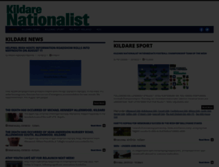 kildare-nationalist.ie screenshot