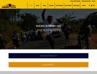 kilimanjaromarathon.com screenshot