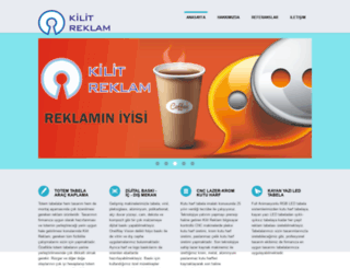 kilitreklam.com screenshot
