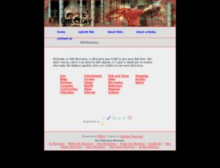 killdirectory.com screenshot