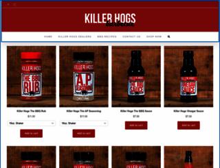killerhogs.com screenshot