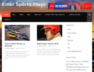 killersportsplays.com screenshot