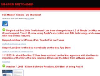 killerssoftware.com screenshot