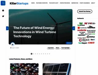 killerstartups.com screenshot