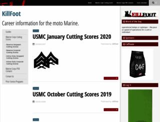 killfoot.com screenshot