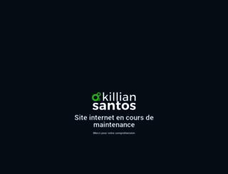 killian-santos.com screenshot