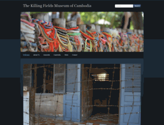 killingfieldsmuseum.com screenshot