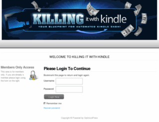 killingitwithkindle.com screenshot
