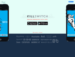 killswitchapp.com screenshot