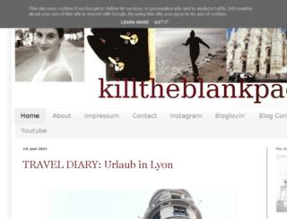 killtheblankpage.blogspot.de screenshot
