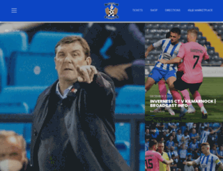 kilmarnockfc.co.uk screenshot