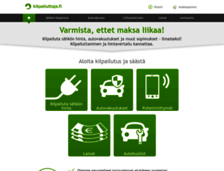 kilpailuttaja.fi screenshot
