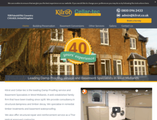 kilrot.co.uk screenshot