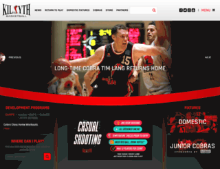 kilsythbasketball.com.au screenshot