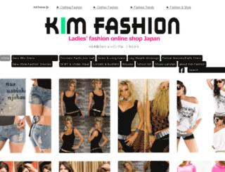 kim-fashion.com screenshot