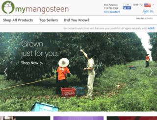 kimann.mymangosteen.com screenshot