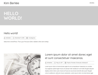 kimberliee.com screenshot