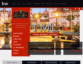 kimberly.tampamarketleaders.com screenshot