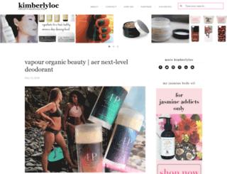 kimberlyloc.com screenshot