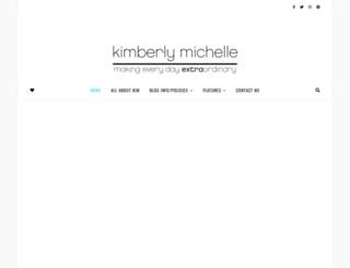 kimberlymichelle.com screenshot